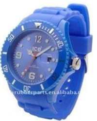 Fashion Silicone ICE Watch