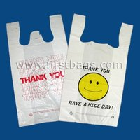 Printed T-Shirt Bags