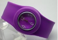 Hot Sale Silicone Slap Watch