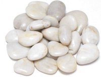 White Pebbles Stones