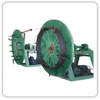 Wheel Type S.R. Takeup Machine