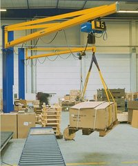 Pillar Mounted Slewing Jib Cranes