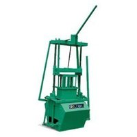 Manual Operated Concrete Block Making Machines
