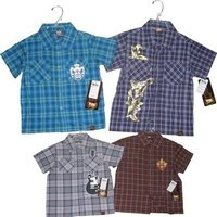 Boy's Short Sleeve Shirts