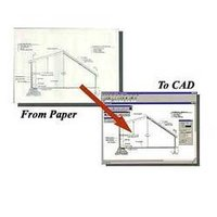 Conversion of Manual Drawings to CAD Drawings