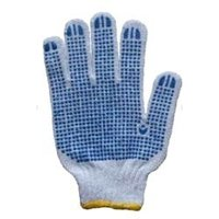 Polka Dotted 40 Grams Weight Hand Gloves