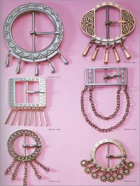 Women Metal Buckles