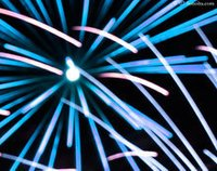 Fire Eye Blue Fireworks