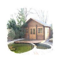 4' X 4' Wooden Cabins