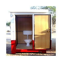 4'X4' Toilet Block