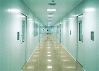 Modular Clean Room Wall Partitions And Ceiling