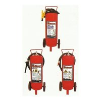 Trolley Mounted Mobile Fire Extinguisher