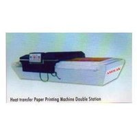 Heat Transfer paper Print Machine Double Station