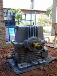 Fix Foot Mounted Worm Reduction Gearbox