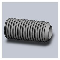 Socket Set Screws Knurlled Cup Point