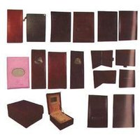 Leather Folder And Menus