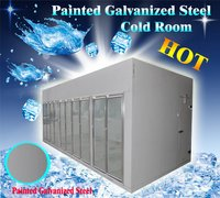 Cold Storage Room With Glass Door Display