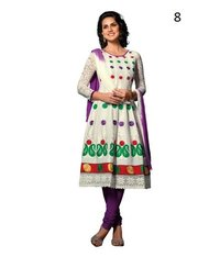 Pure Georgette Embroidery Suit