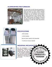 Billet Re-Heating Furnaces