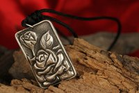 Trendy Antique Sterling Silver Pendant