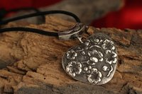 Sterling Silver Antique Pendant Necklace