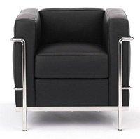 LC2 Modern Classic Leather Sofa