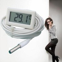 Digital Thermometer With Battery