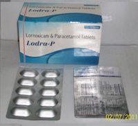 Lornoxicam And Paracetamol Tablets (Lodra-P)