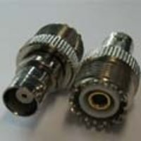 Connector Bnc-Male To Uhf Female