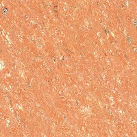 Orange Color Crystal Double Loading Polished Porcelain Tile (600x600 Mm)