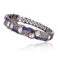 Diamond Designer Gold Bangles