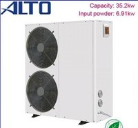 Air Heat Pump Water Heater (35.2kw, Galvanized Cabinet)