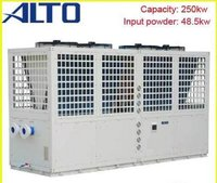 Commercial Pool Heat Pump System (250kw, Galvanized Steel Cabinet)