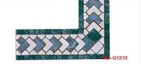Blues Marble Mosaic Border