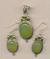 925 Silver Pendants Sets