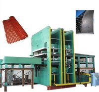 2500T Mechanical Auto Mould Ejecting Double Layers Vulcanizing Press