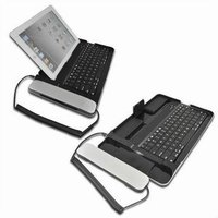 Bluetooth Keyboard With Anti-Radiation Handset For Iphone/ Ipad