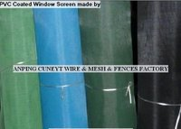 Pvc Coated Wire Window Screen
