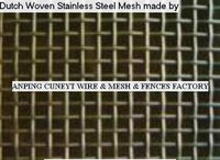 Dutch Woven Stainless Steel Wire Mesh