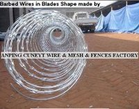 Barbed Wires In Blade Shape