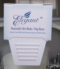 Elegant Disposable Skin Blade