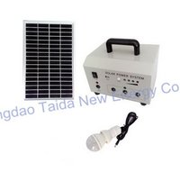 10w Portable Solar Power Systems