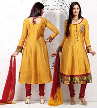 Stylish Cotsilk Kalidar Kameez