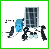 Portable Solar Power System With Solar Charger
