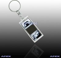 LCD Solar Key Ring AK013 (Heart)