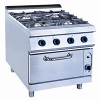 900 Series 4-Open Burners Range
