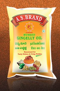 A.S.Brand Husked Gingelly Oil