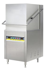 Hood Type Single Rack Electric Heated Dish Washer