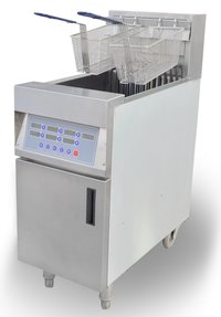 Computer Control Electric 1 Tank Fryer - 28 Litres