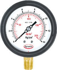 Cast Aluminium Case Weather Proof Gauges